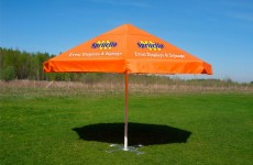 Advertizing Parasols & Umbrellas are perfect for outdoor events. We print on the entire surface using dye-sublimation technology, making for bright and vibrant images that will catch the eyes of potential […]