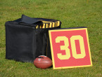 "Our padded custom-printed sideline markers (20"" x 20"") offer a unique alternative to traditional makers, as not only can they represent a team, but team sponsors as well. Our markers […]"