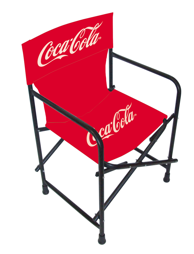 Director's Chair (with personalized logo on both back and seat, as wll as with back rest)