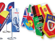 Pennants We manufacture miniature pennants in standard rectangle shapes 13cm x 22cm, as well as in shapes suggested by our customers. We use high-quality polyester satin for the flags and offer a […]